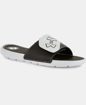 Men's UA Playmaker Slides V  1 Color $29.99