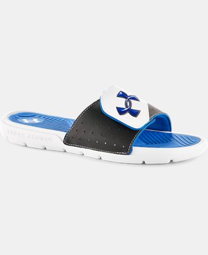 Men's UA Playmaker Slides V LIMITED TIME: FREE SHIPPING 1 Color $22.99 to $29.99