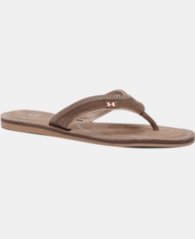 Women's UA TropicFlo Leather Sandals  1 Color $69.99