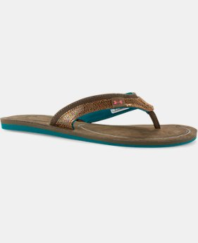 Women's UA TropicFlo Leather Sandals