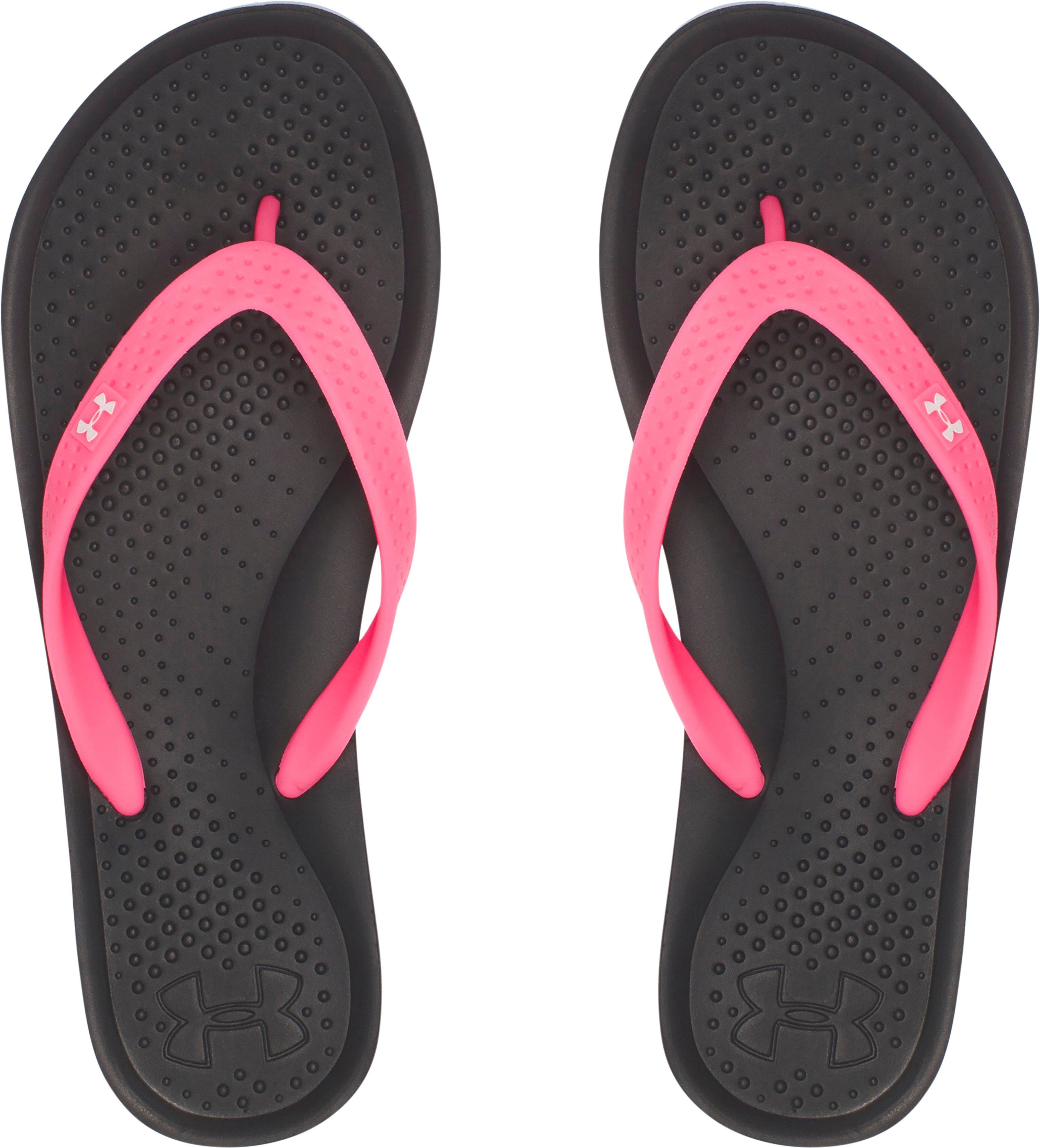 Women's UA Atlantic Dune Sandals, Black , , Black , Click to view full size