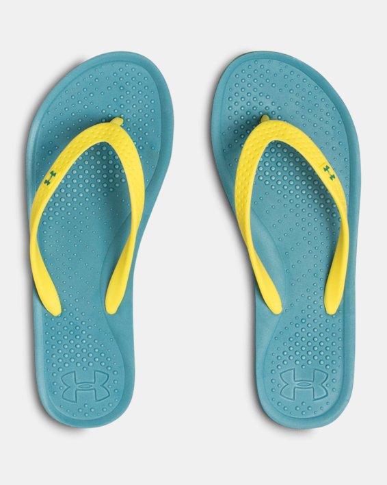 Women's UA Atlantic Dune Sandals, Blue, pdpMainDesktop image number 3