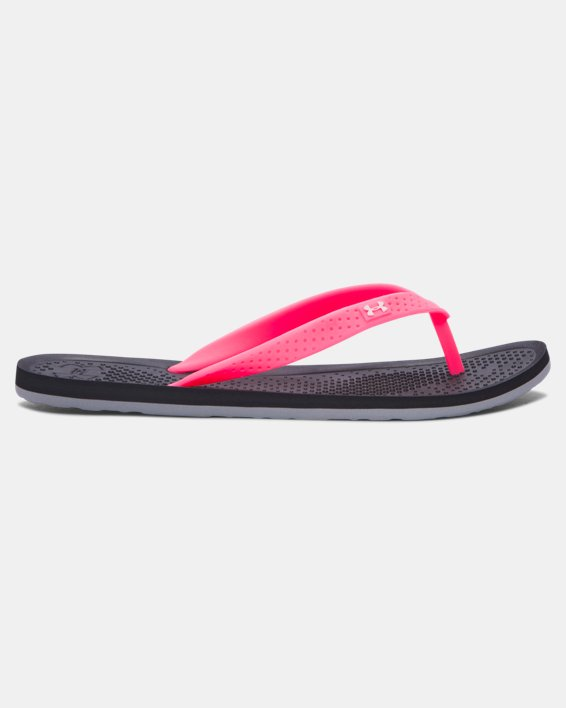 Girls' UA Atlantic Dune Sandals, Black, pdpMainDesktop image number 0