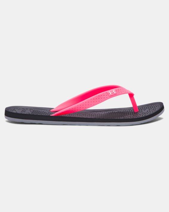 Girls' UA Atlantic Dune Sandals, Black, pdpMainDesktop image number 0
