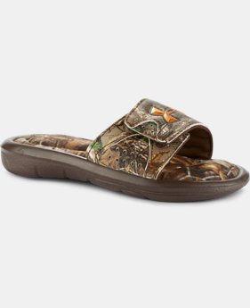 Boys' UA Ignite IV Camo Sandals