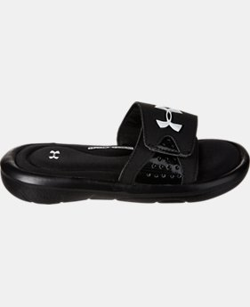 Boys' UA Ignite Slide Sandals  1 Color $29.99
