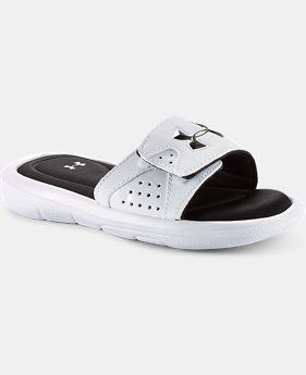 Boys' UA Ignite Slide Sandals LIMITED TIME: FREE SHIPPING 1 Color $34.99