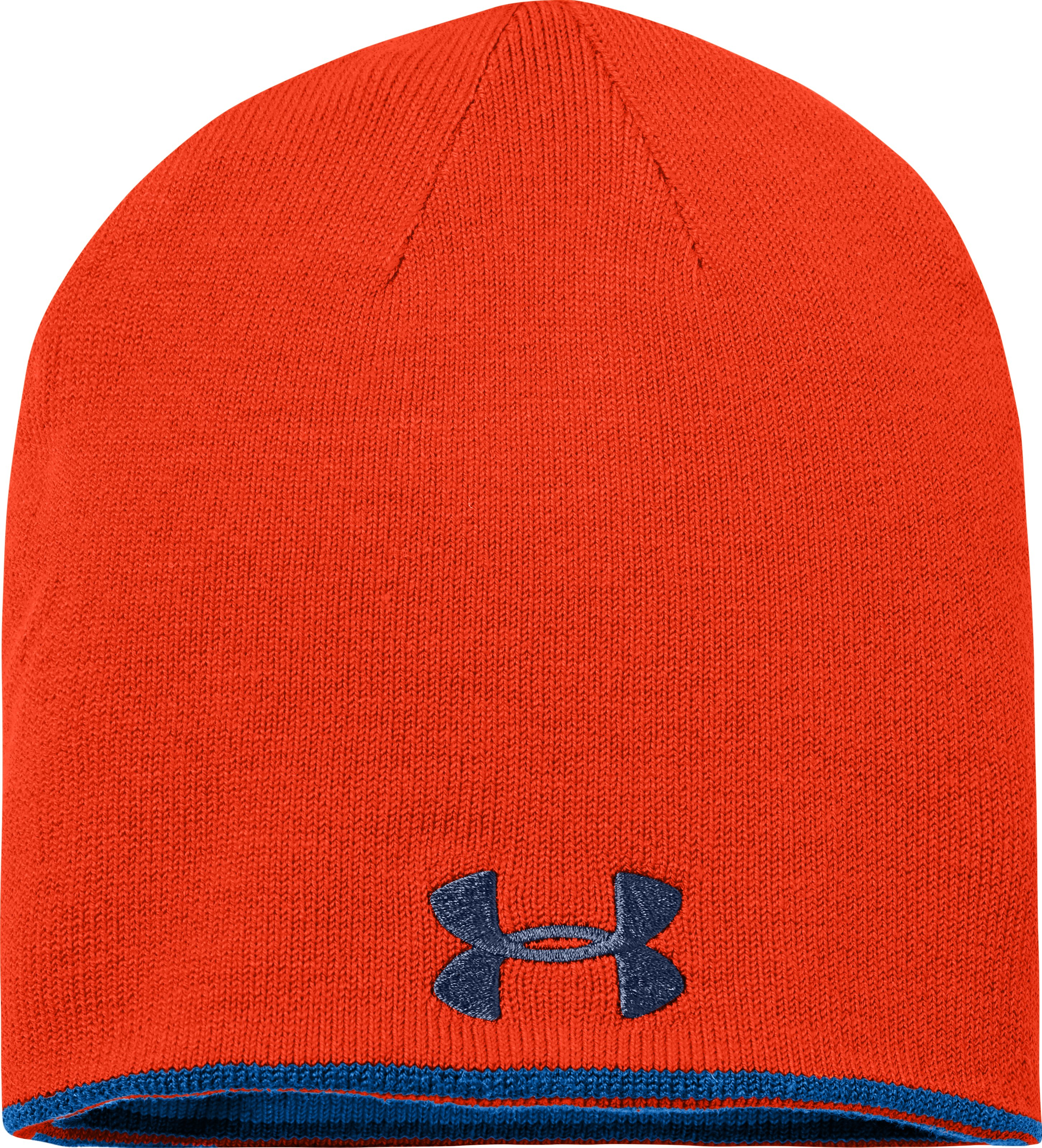 Boys' UA Stripe Reversible Beanie, SCATTER, undefined