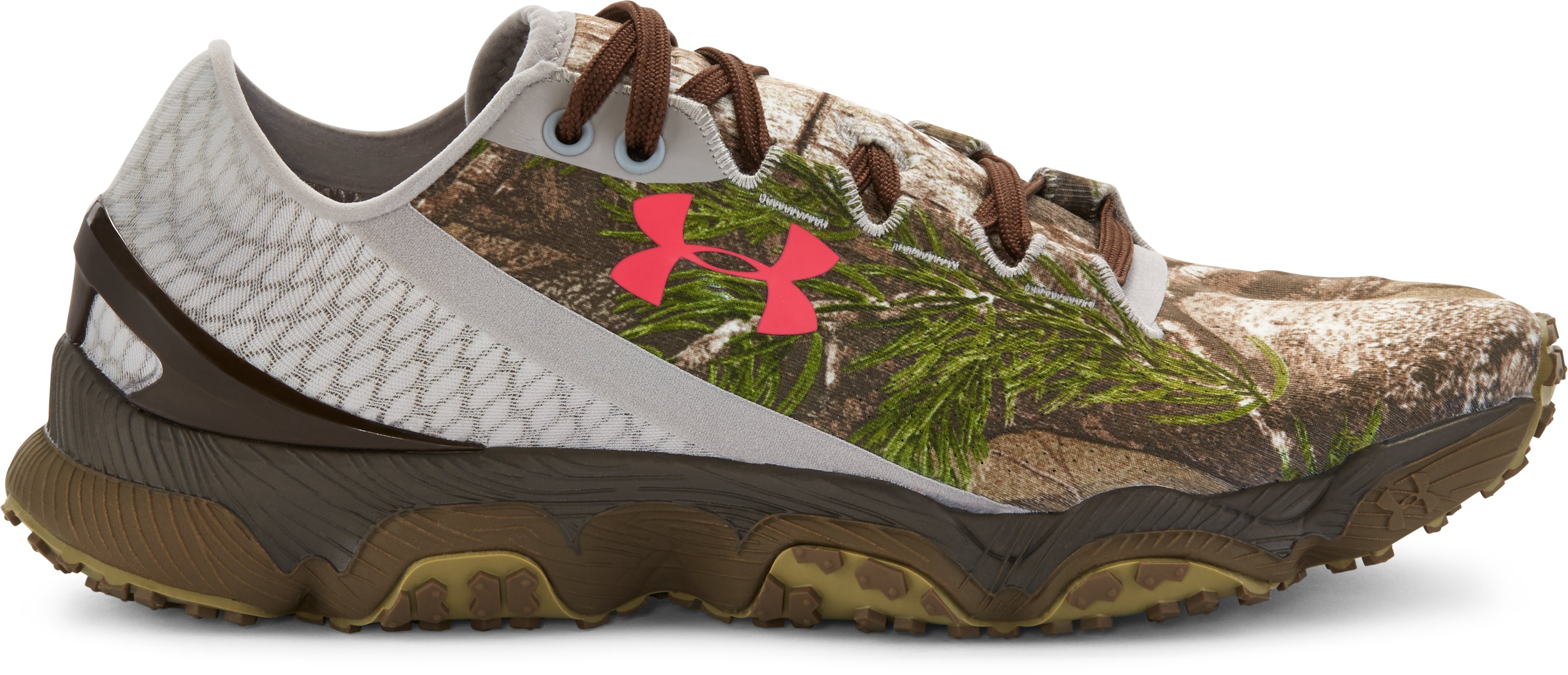 Women's UA SpeedForm® XC Camo Trail Running Shoes, REALTREE AP-XTRA