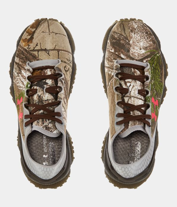 Women S Ua Speedform 174 Xc Camo Trail Running Shoes