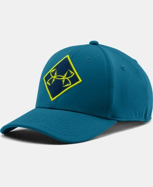Men's UA Fish Ripstop Stretch Fit Cap LIMITED TIME: FREE U.S. SHIPPING 1 Color $14.99