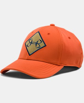 Men's UA Fish Ripstop Stretch Fit Cap