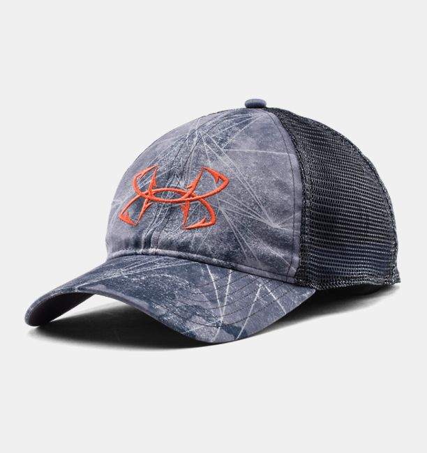 Men s ua fish hook logo cap under armour us for Fishing hooks for hats