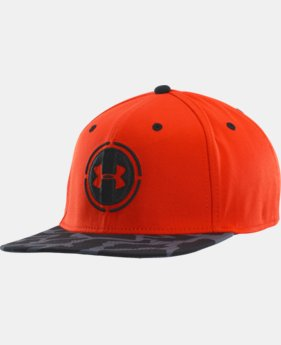 Men's UA Combine® Training Flat Brim Stretch Fit Cap