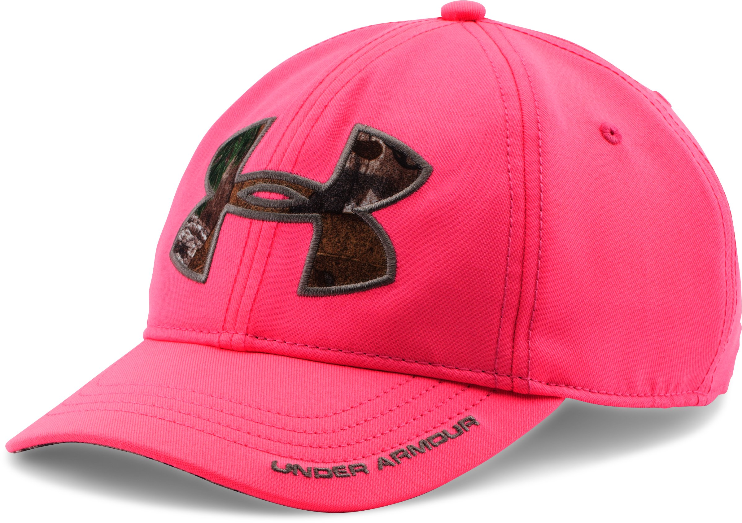 Women's UA Caliber Cap, HARMONY RED