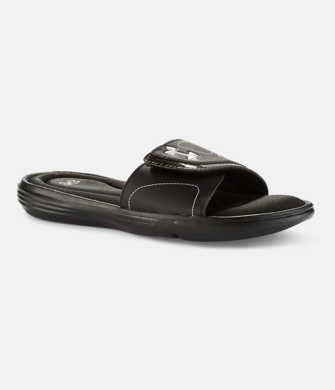 Women's Under Armour Ignite VII SL Women's Sandals Shoes White/Black