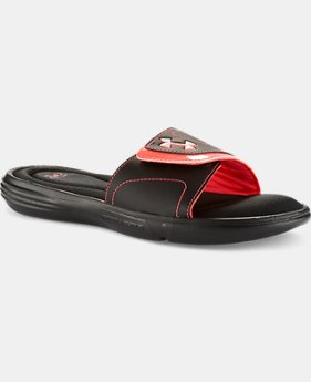 Women's UA Ignite VII Slides  1  Color $26.99
