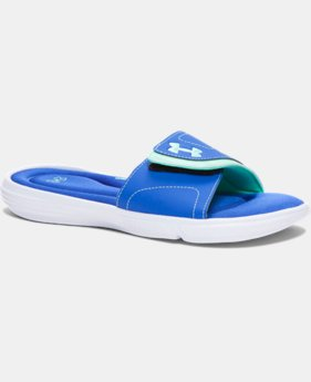 Women's UA Ignite VII Slides  1 Color $23.99