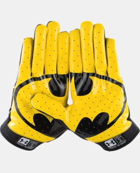 Men's Under Armour® Superman F4 Football Gloves