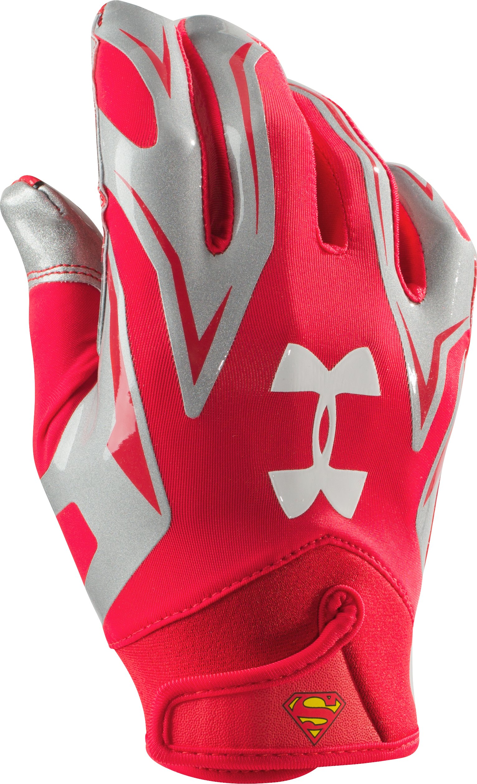 Men's Under Armour® Alter Ego F4 Football Gloves, Red