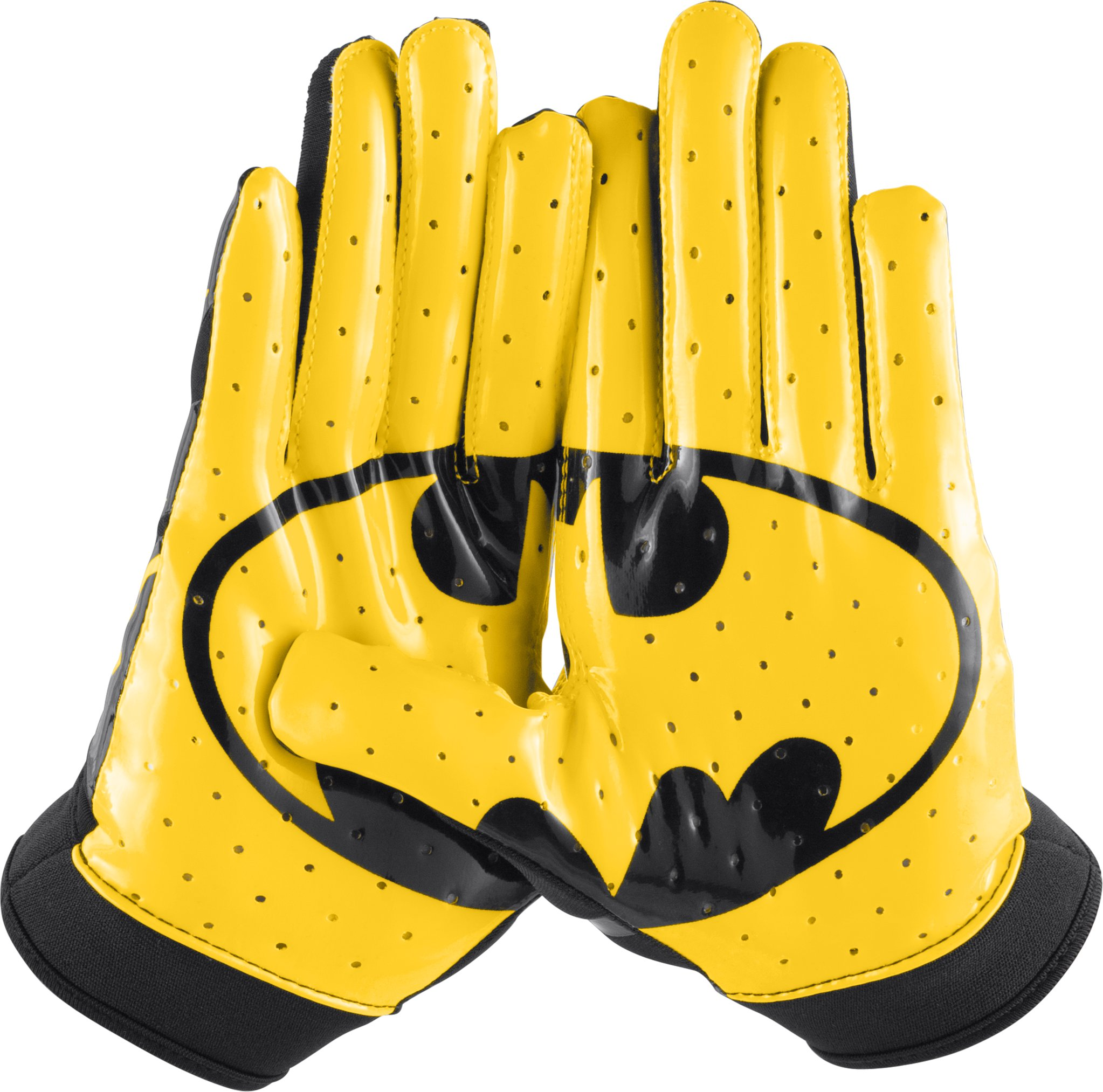 Boys' Under Armour® Alter Ego F4 Football Gloves, Black , zoomed image