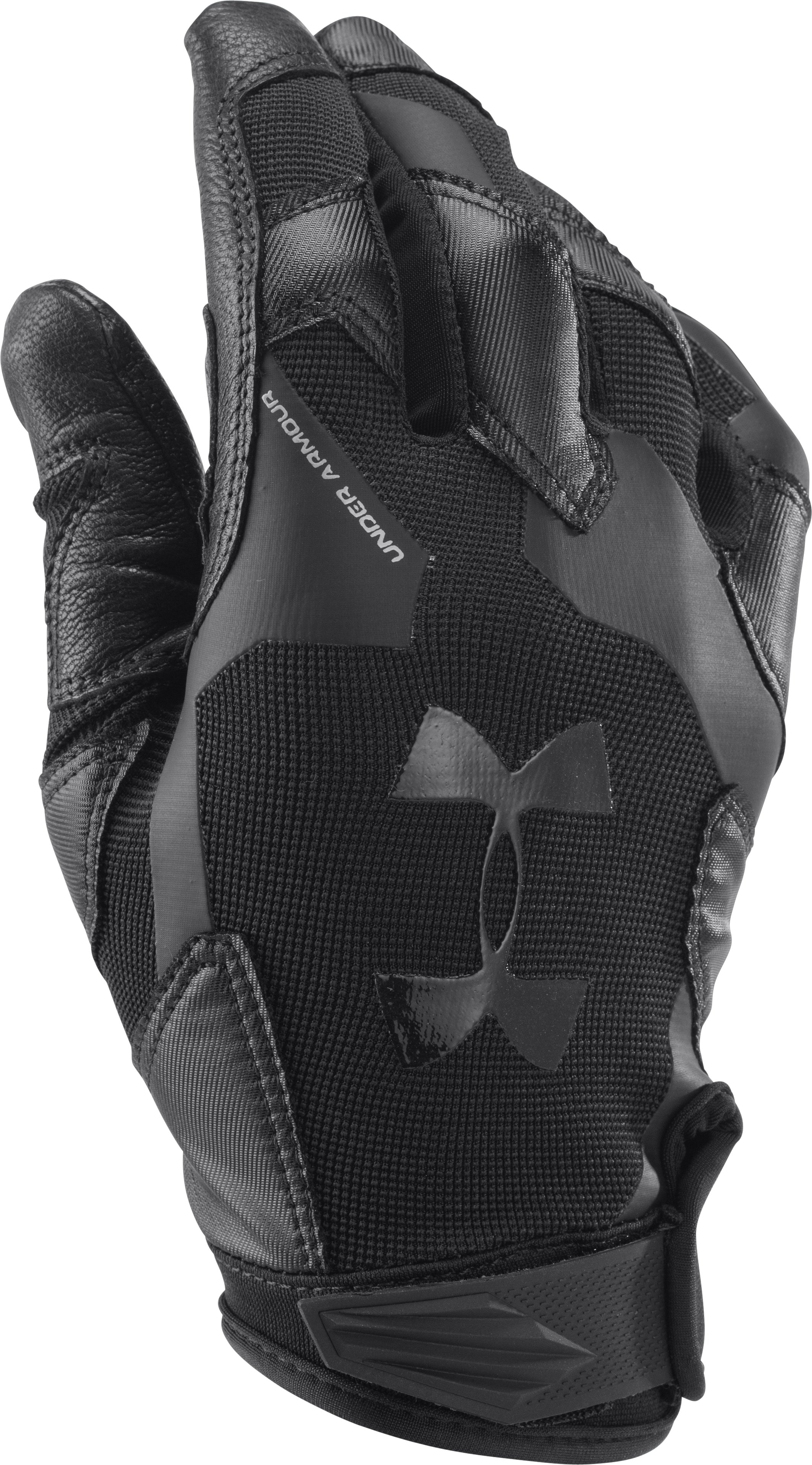 Men's UA Renegade Training Gloves, Black , undefined