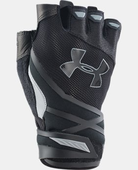 Men's UA Resistor Half-Finger Training Gloves   $34.99