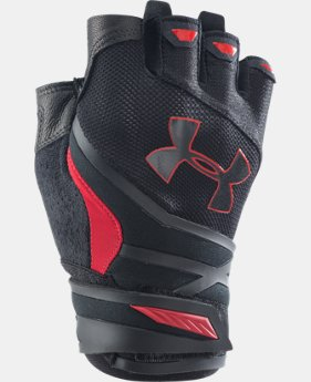 Men's UA Resistor Half-Finger Training Gloves  1 Color $29.99