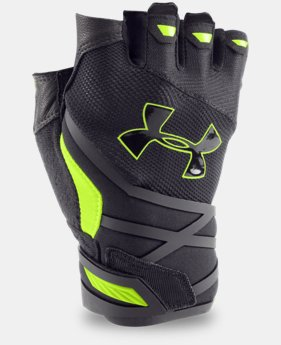 Men's UA Resistor Half-Finger Training Gloves   $39.99