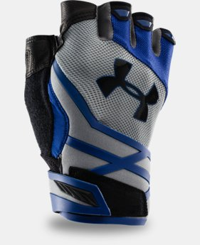 Men's UA Resistor Half-Finger Training Gloves  1 Color $39.99