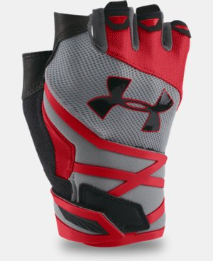Men's UA Resistor Half-Finger Training Gloves  2 Colors $34.99