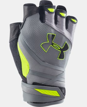 Men's UA Resistor Half-Finger Training Gloves LIMITED TIME: FREE SHIPPING  $39.99