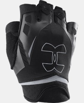 Men's UA Flux Half-Finger Training Gloves   $27.99