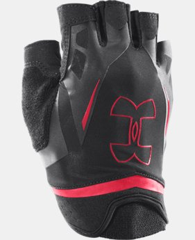 Men's UA Flux Half-Finger Training Gloves   $17.99