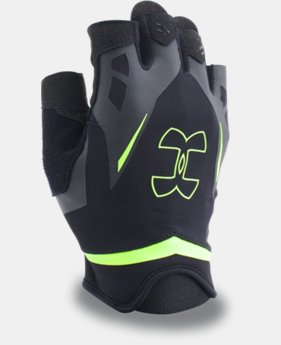 Men's UA Flux Half-Finger Training Gloves  1 Color $13.99 to $17.99