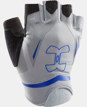 Men's UA Flux Half-Finger Training Gloves  1 Color $27.99