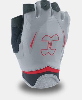 Men's UA Flux Half-Finger Training Gloves  3 Colors $27.99