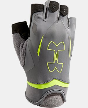 Men's UA Flux Half-Finger Training Gloves   $15.74