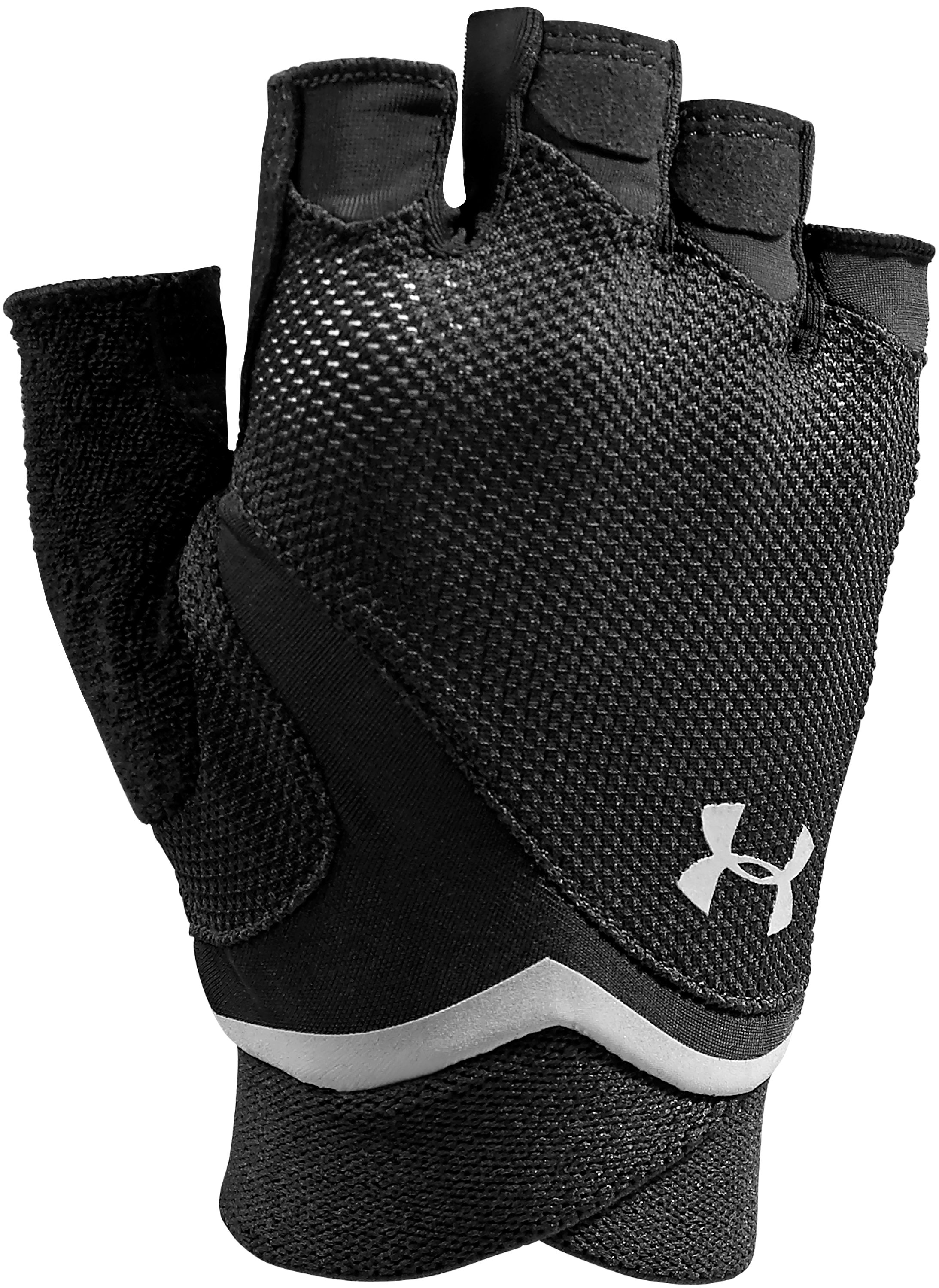 Women's UA Flux Gloves, Black , zoomed image