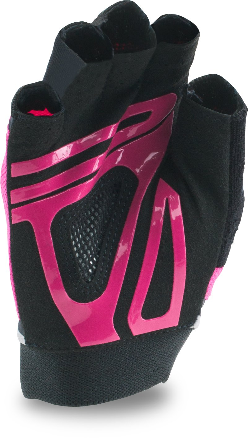 Women's UA Flux Gloves, Tropic Pink, undefined