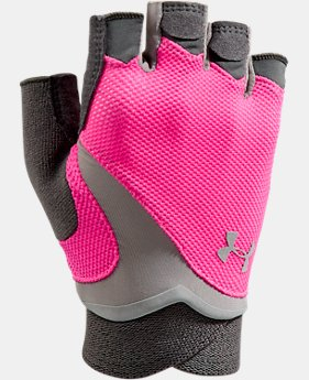 Women's UA Flux Half-Finger Training Gloves  3 Colors $20.99