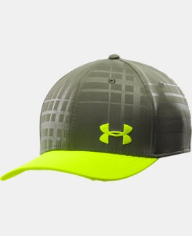 Men's UA Bravo Low Crown Stretch Fit Cap