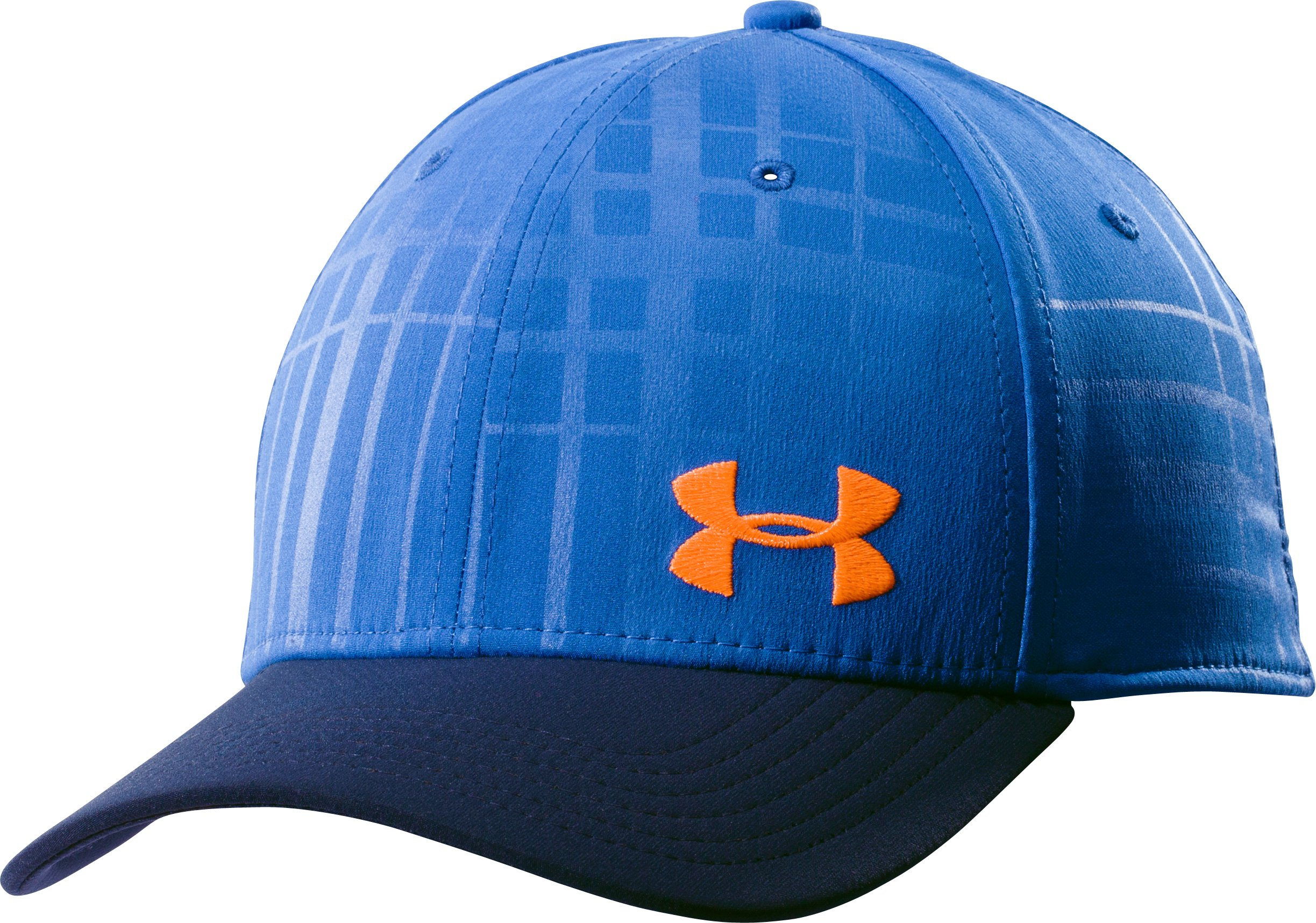 Men's UA Bravo Low Crown Stretch Fit Cap, SCATTER