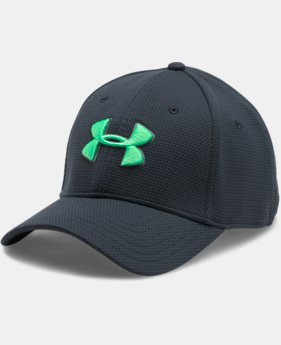 Best Seller Men's UA Blitzing II Stretch Fit Cap  1 Color $15.99