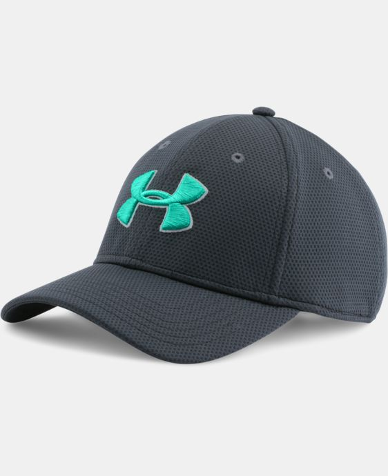 Men's UA Blitzing II Stretch Fit Cap LIMITED TIME: FREE U.S. SHIPPING 3 Colors $12.74 to $16.99