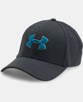 Best Seller  Men's UA Blitzing II Stretch Fit Cap  5 Colors $25.99