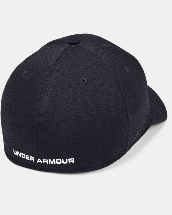 Men's UA Blitzing II Stretch Fit Cap, Black, pdpMainDesktop image number 1