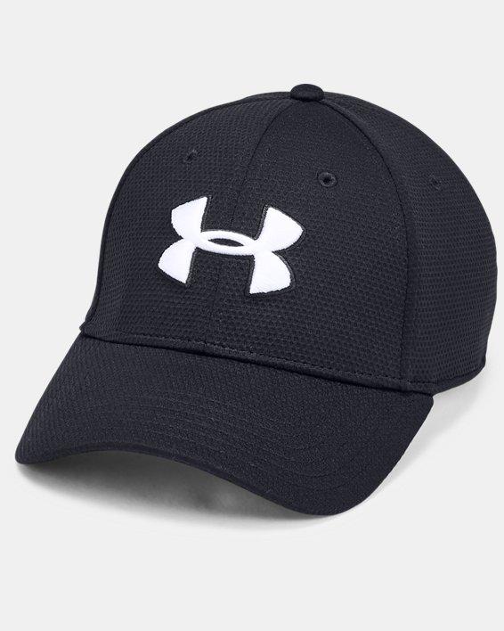 Men's UA Blitzing II Stretch Fit Cap, Black, pdpMainDesktop image number 0