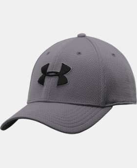Men's UA Blitzing II Stretch Fit Cap  9 Colors $21.99