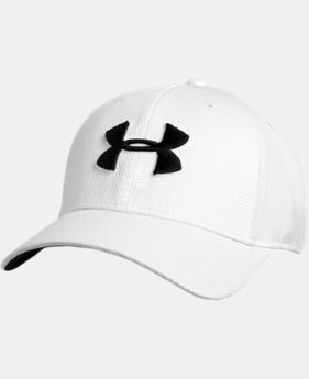 Best Seller Men's UA Blitzing II Stretch Fit Cap  1  Color Available $21.99